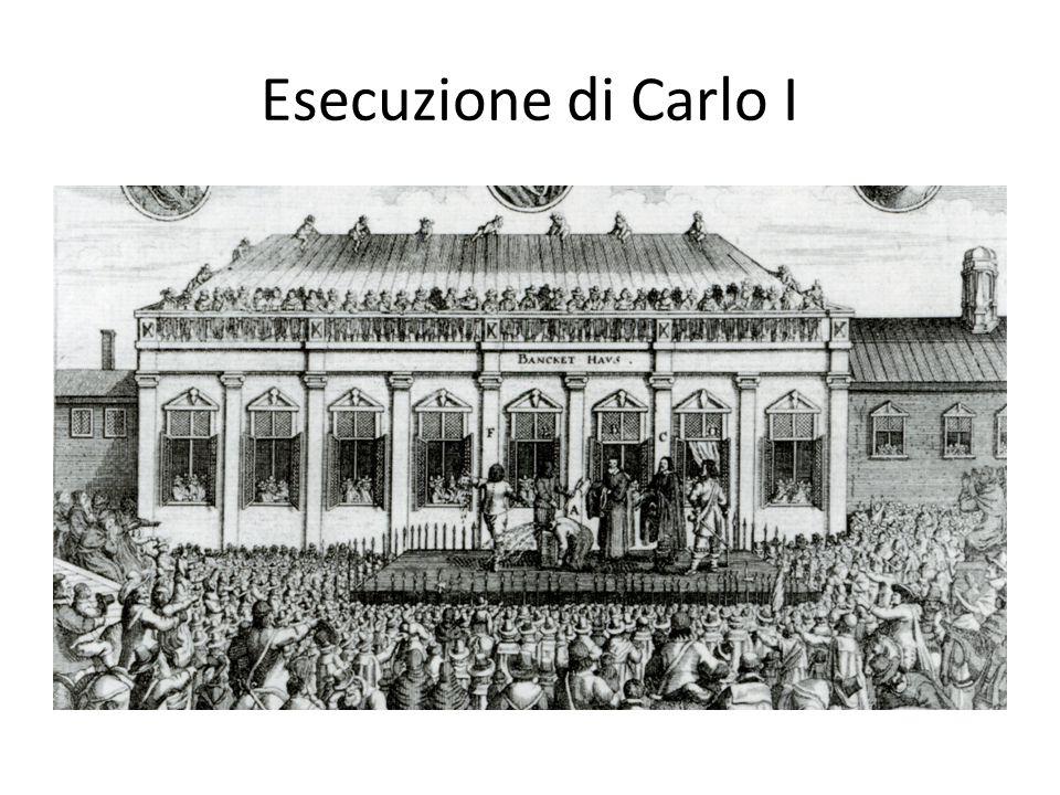 Esecuzione di Carlo I