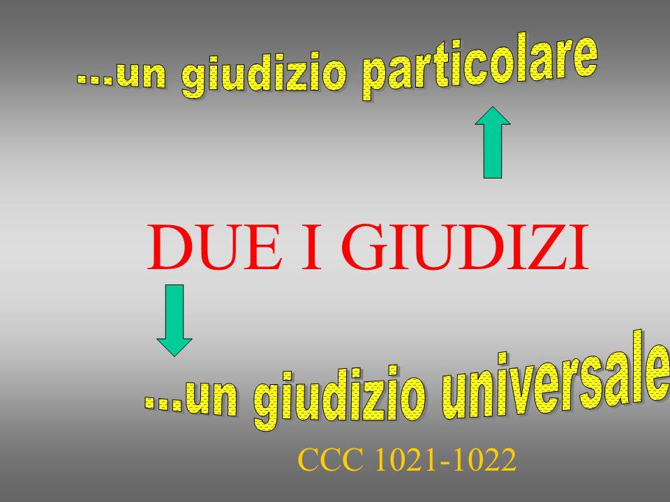 CCC 1021-1022 DUE I GIUDIZI