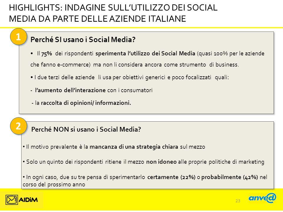 2 2 Perché SI usano i Social Media.