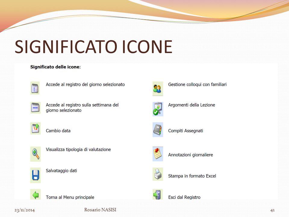 SIGNIFICATO ICONE 23/11/2014Rosario NASISI41