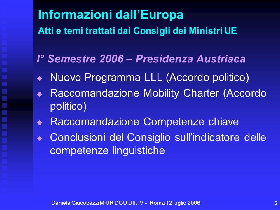 Daniela Giacobazzi MiUR DGU Uff.