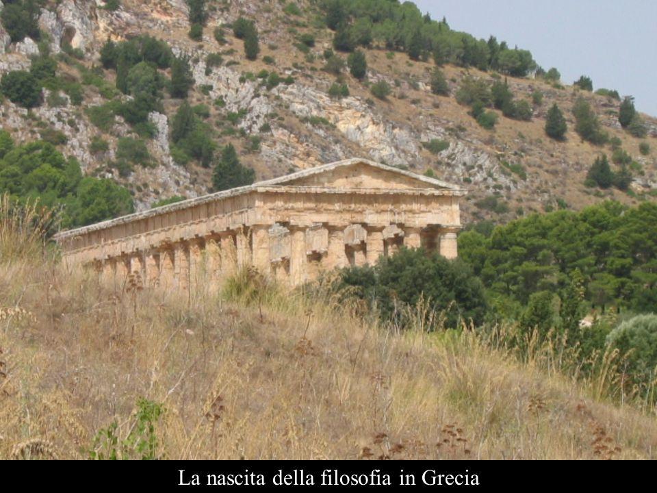 La nascita della filosofia in Grecia