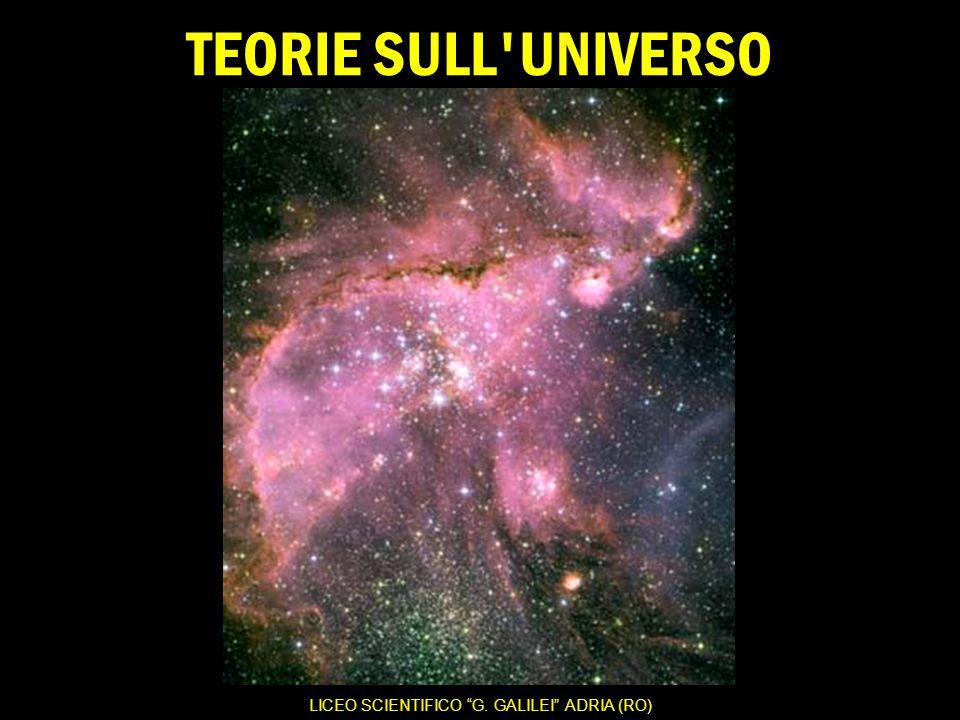 TEORIE SULL UNIVERSO LICEO SCIENTIFICO G.