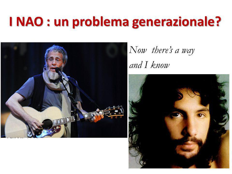 I NAO : un problema generazionale.