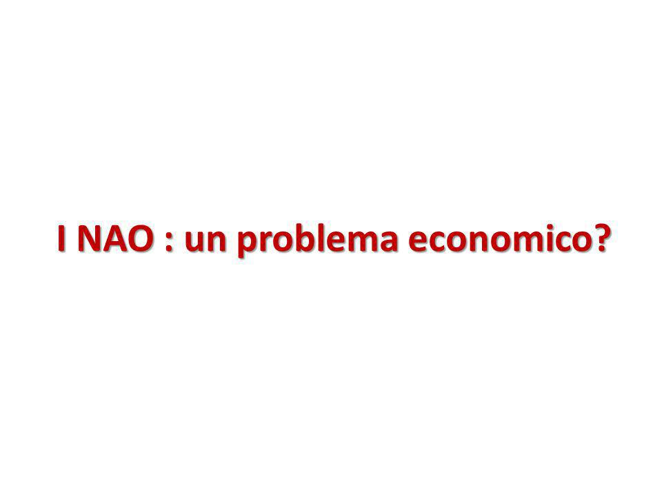 I NAO : un problema economico?