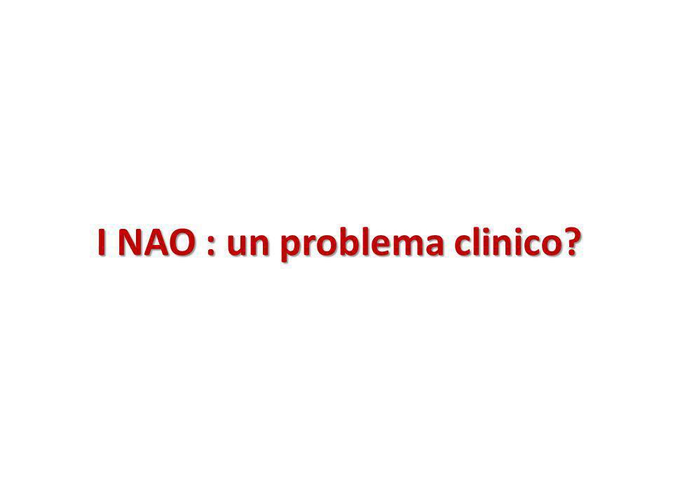 I NAO : un problema clinico?