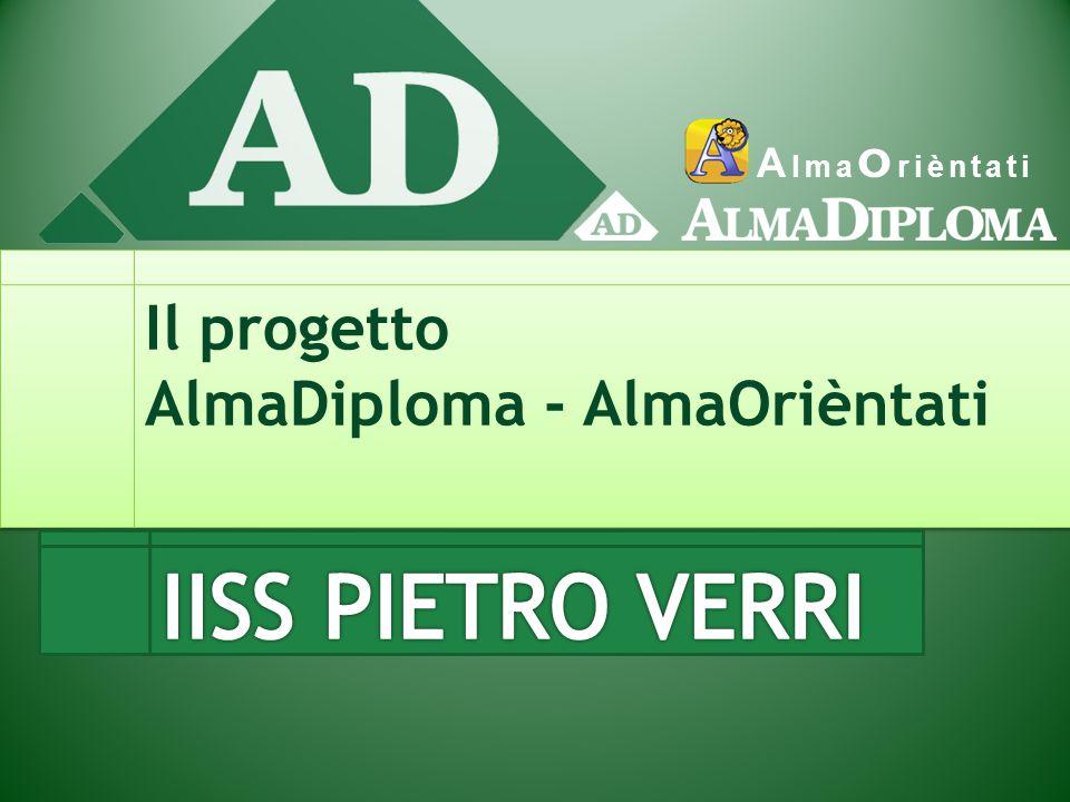 A lma O rièntati Il progetto AlmaDiploma - AlmaOrièntati
