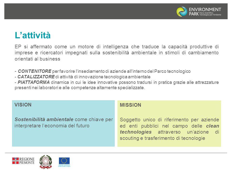 EP si affermato come un motore di intelligenza che traduce la capacità produttive di imprese e ricercatori impegnati sulla sostenibilità ambientale in