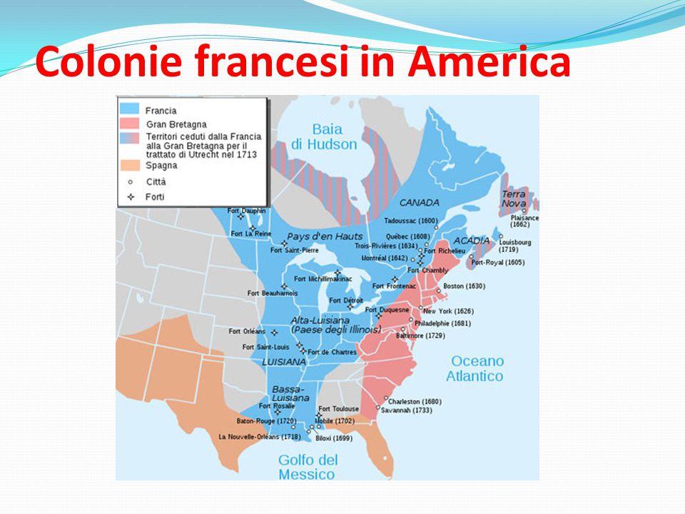 Colonie francesi in America