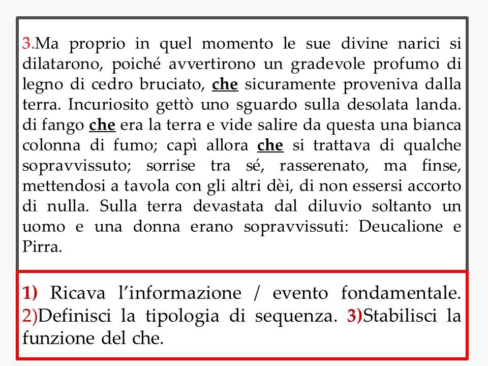 4.Il re di Ftia, Deucalione, su consiglio di suo padre Promèteo, aveva costruito un arca, l aveva riempita di vettovaglie e vi si era poi rinchiuso con la moglie Pirra.
