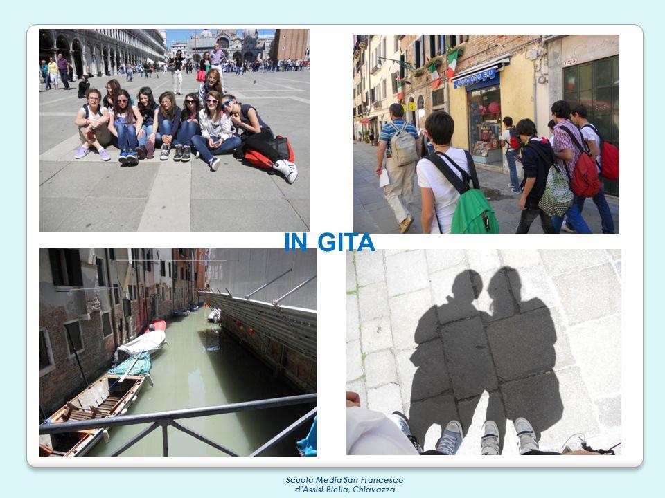 Scuola Media San Francesco d'Assisi Biella, Chiavazza IN GITA