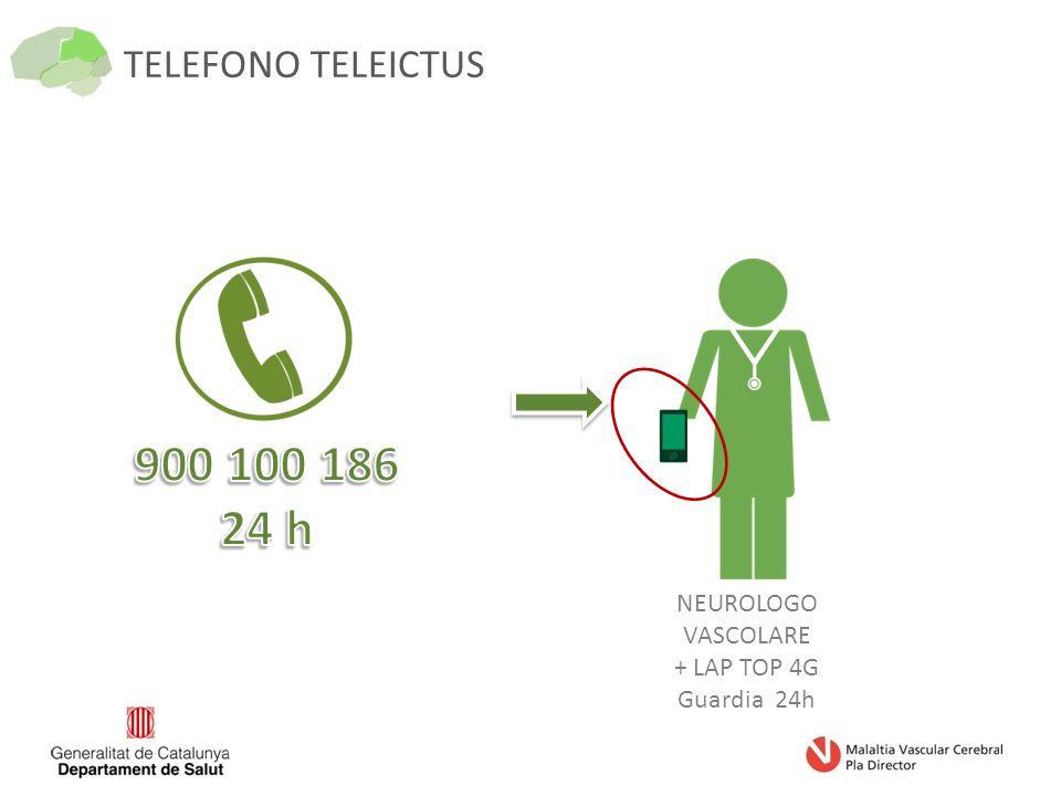 TELEFONO TELEICTUS NEUROLOGO VASCOLARE + LAP TOP 4G Guardia 24h