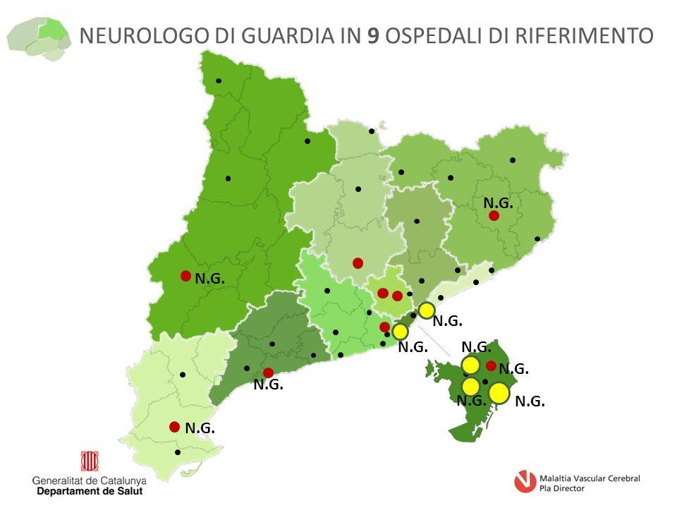 N.G. NEUROLOGO DI GUARDIA IN 9 OSPEDALI DI RIFERIMENTO
