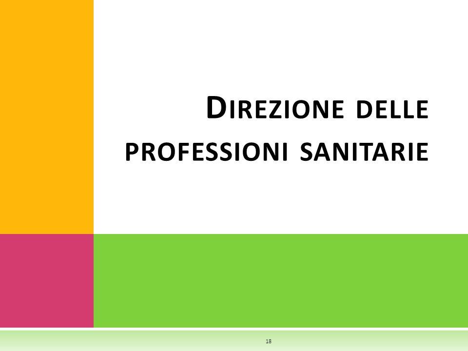 D IREZIONE DELLE PROFESSIONI SANITARIE 18