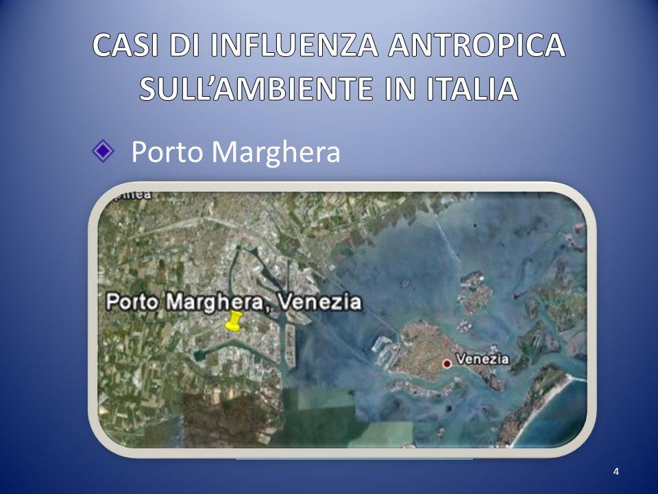4 Porto Marghera Cloruro di vinile monomero (CVM):Cloruro di polivinile (PVC):