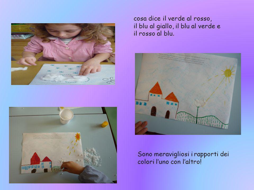 Libro bambini di 5 anni Il bambino può sentire attraverso il colore, che cosa i colori han da raccontare all'uomo, poiché in essi c'è un mondo intero.