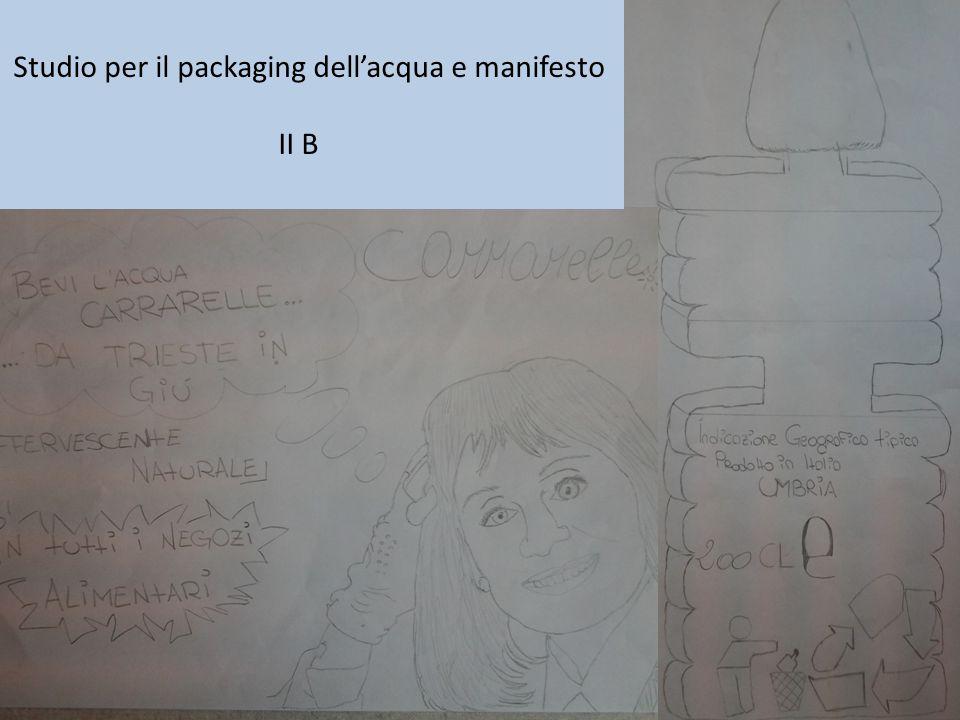 Studio per il packaging dello yogurt e manifesto II B