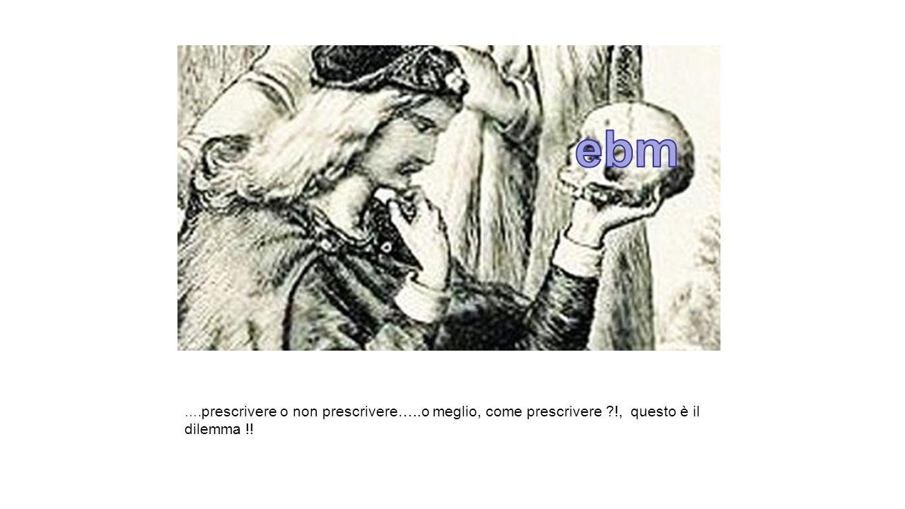 …. prescrivere o non prescrivere…..o meglio, come prescrivere ?!, questo è il dilemma !!
