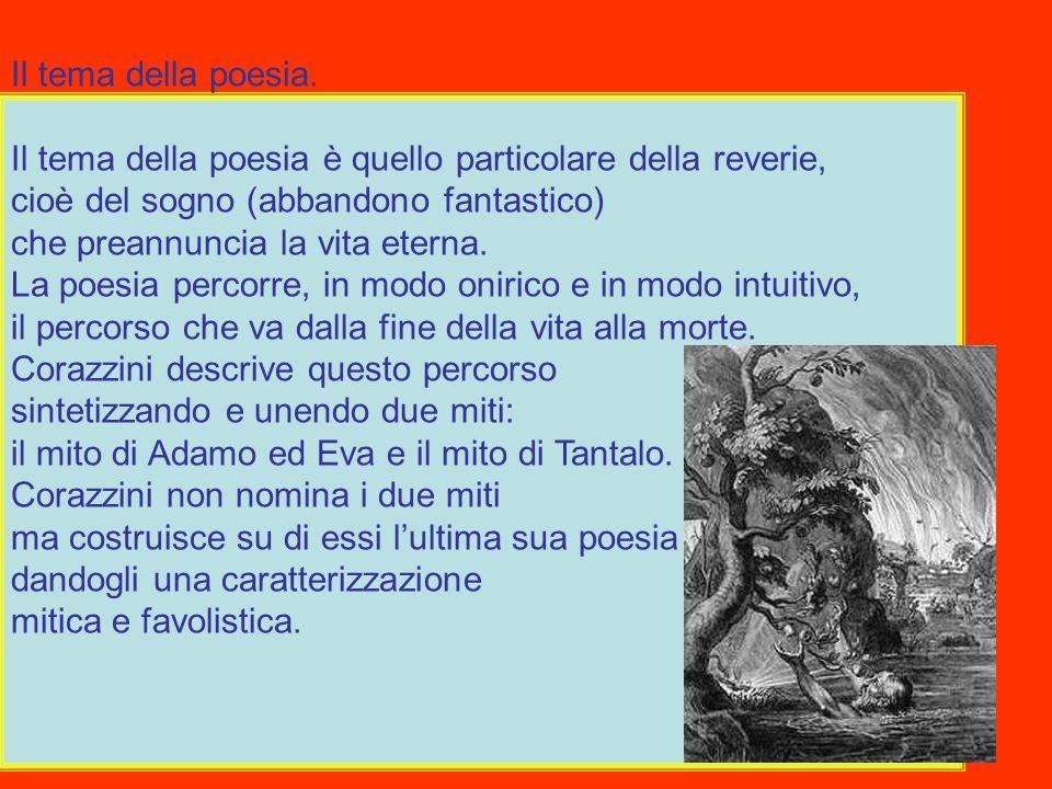 Il tema della poesia.