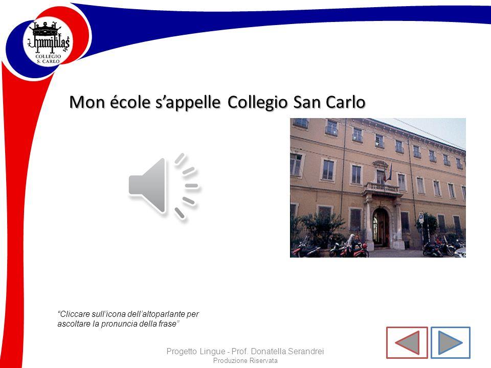 """Produzione Riservata """"Cliccare sull'icona dell'altoparlante per ascoltare la pronuncia della frase"""" Progetto Lingue - Prof. Donatella Serandrei Je sui"""