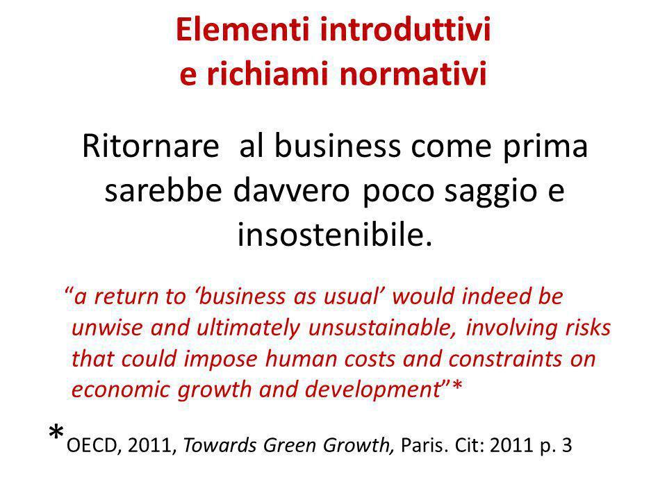  2 miliardi di incentivi per 8 miliardi di investimenti a favore di altre trasformazioni industriali da brown a green, da progettare su base regionale-territoriale.