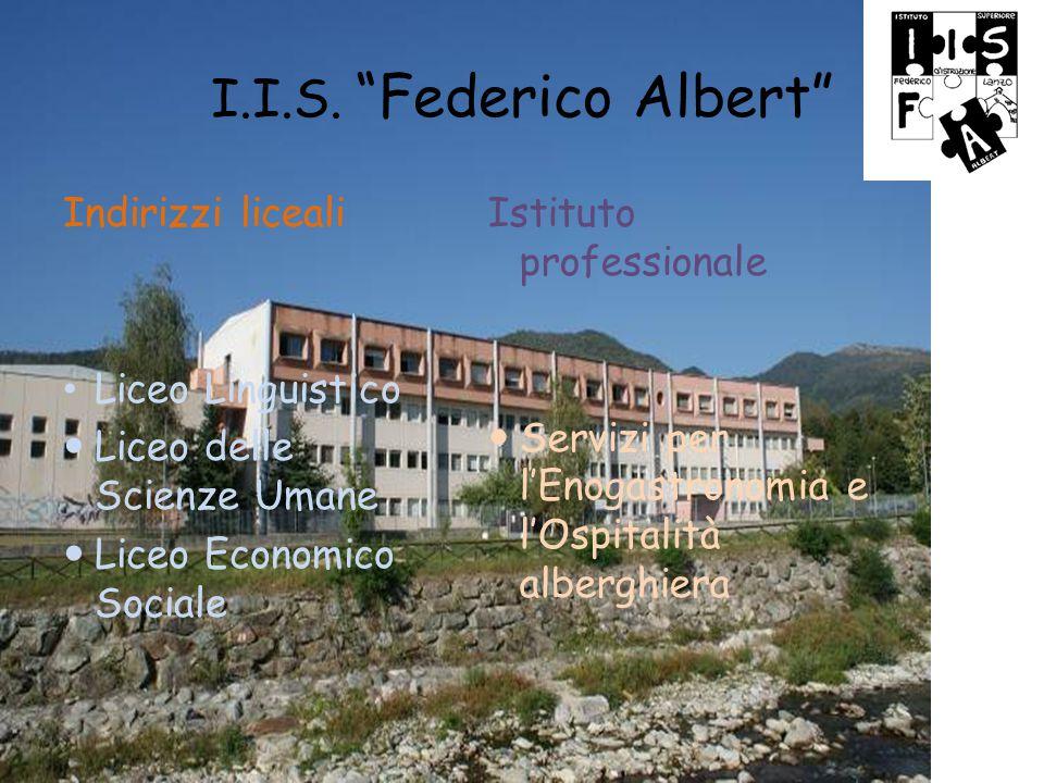 Istituto Albert di Lanzo Liceo Linguistico Profilo Quadro orario Attività caratterizzanti Stage Certificazioni www.istituto-albert.it