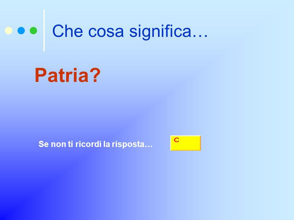 Chi fu il primo Re dell'Italia unita Se non ti ricordi la risposta…