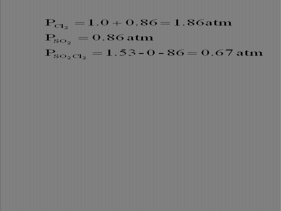 D6-10)Si calcolino le pressioni di SO 2 Cl 2, SO 2 e Cl 2 in un pallone da 1 litro (a 375K) a cui siano stati aggiunti 6,7 g di SO 2 Cl 2 e 1,0 atm di