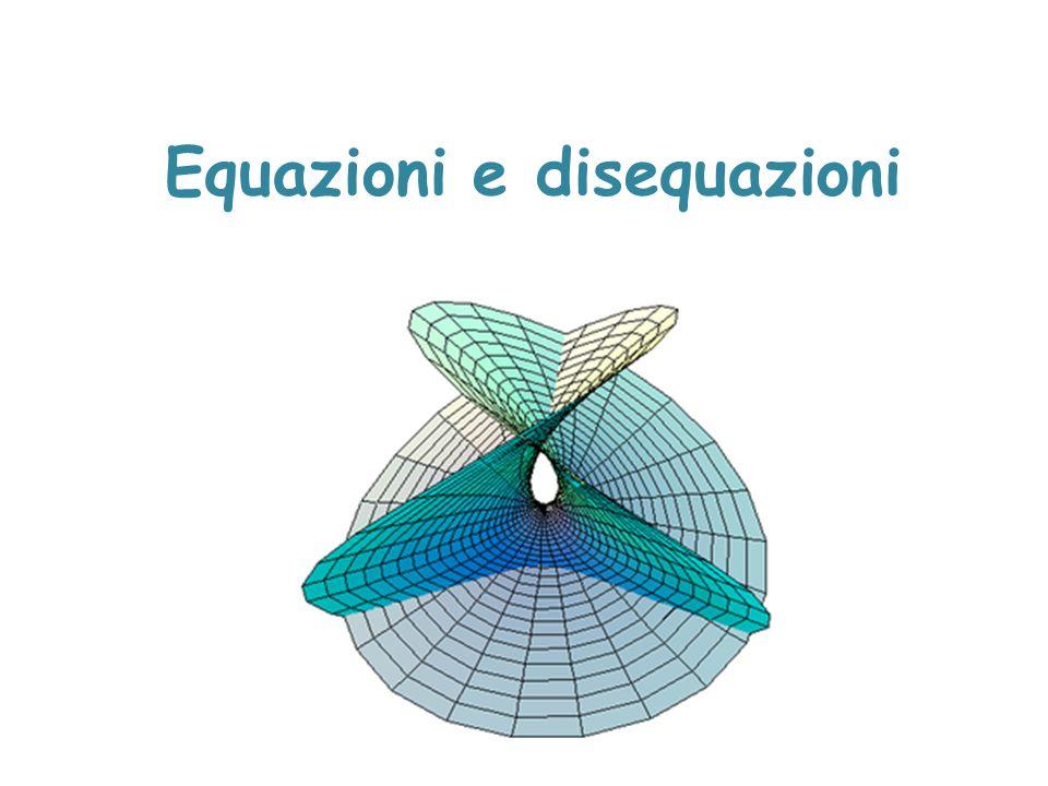 Disequazioni lineari Rappresentazione grafica delle soluzioni x>8 R 8