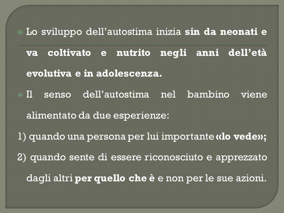  3.viene riconosciuta l'individualità dei figli, la loro unicità e il pensiero autonomo.