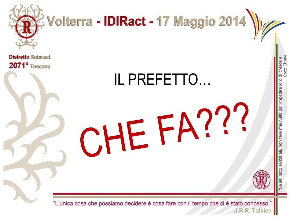 SESSIONE PREFETTI A.R. 2014-2015 - Distretto 2071 ALESSIA FRANCA M. CANTIERI - Rotaract Viareggio Versilia ANDREA PIERATTELLI - Rotaract Fiesole A.R.