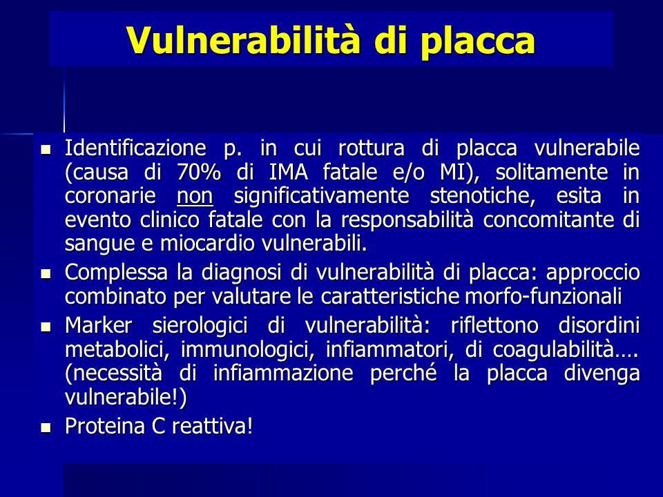 Vulnerabilità di placca Identificazione p.