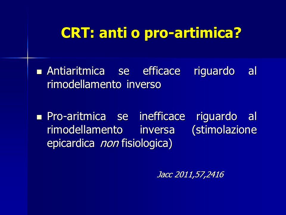 CRT: anti o pro-artimica.