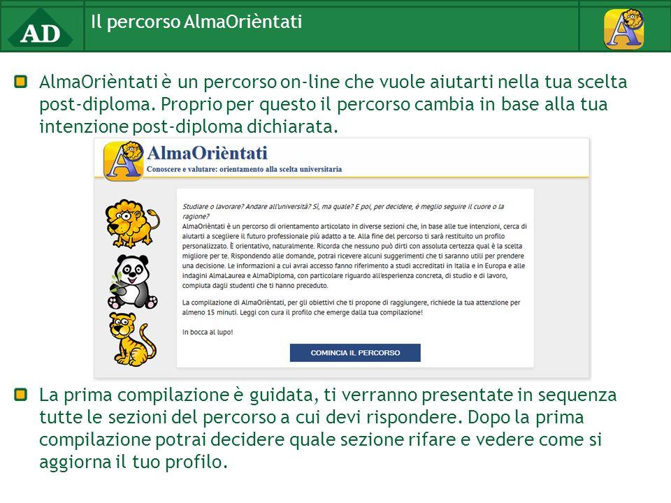 AlmaOrièntati è un percorso on-line che vuole aiutarti nella tua scelta post-diploma.