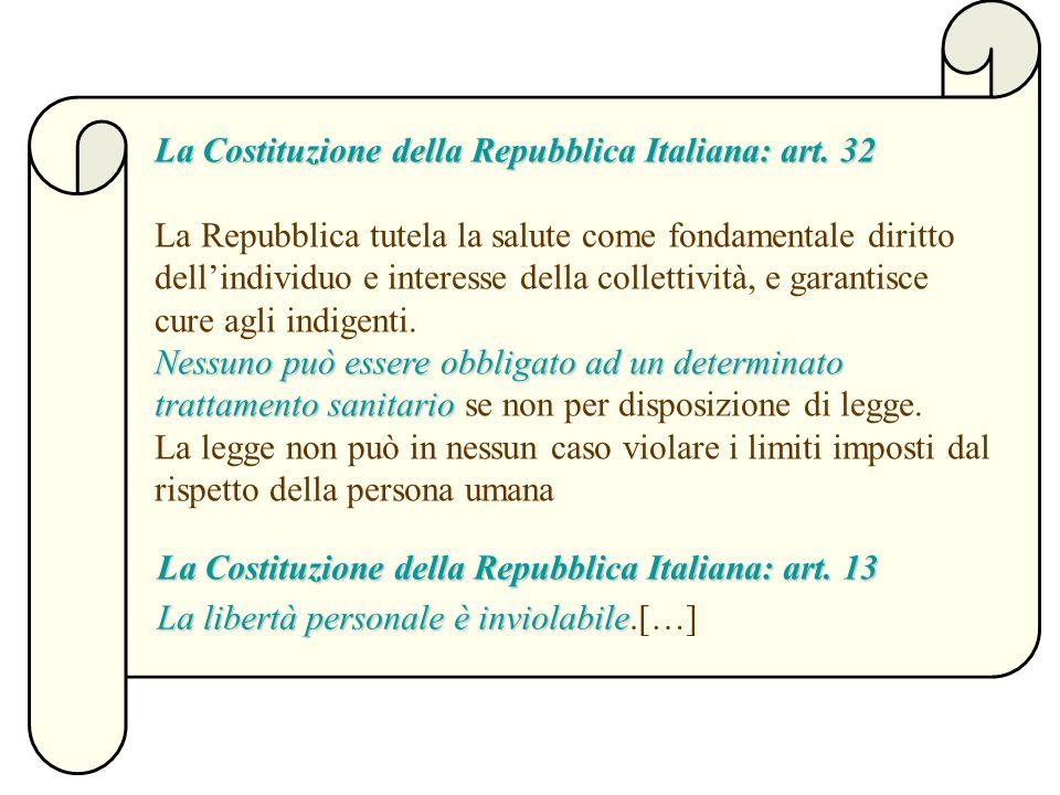 La Costituzione della Repubblica Italiana: art.