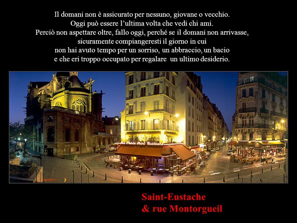 Montmartre Sempre c'è un domani e la vita ci dà la possibilità di fare le cose bene, ma se mi sbagliassi e oggi fosse tutto ciò che ci rimane, mi piac