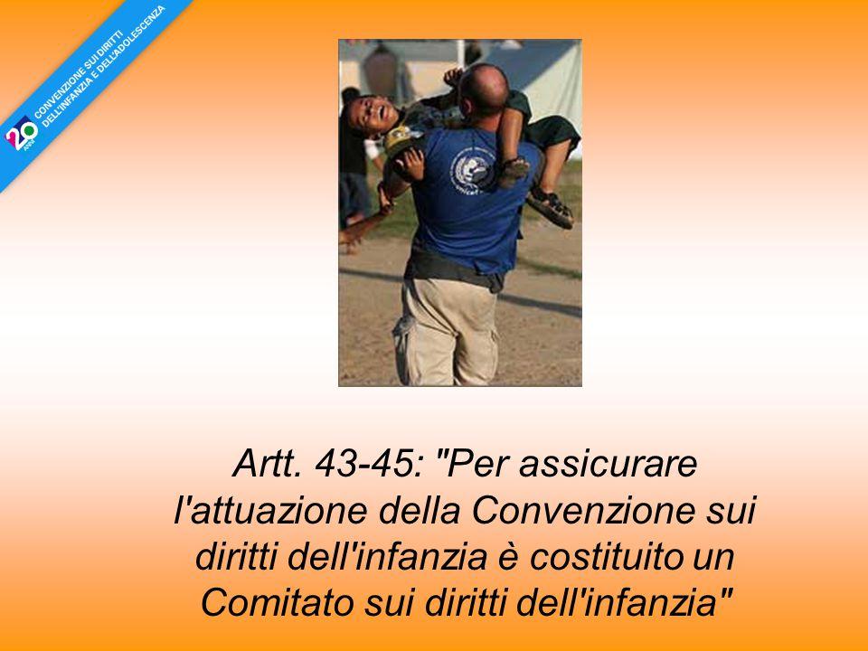 Artt. 43-45: