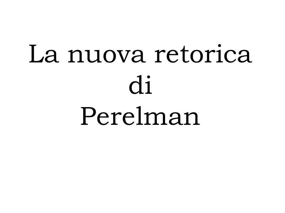 La nuova retorica di Perelman