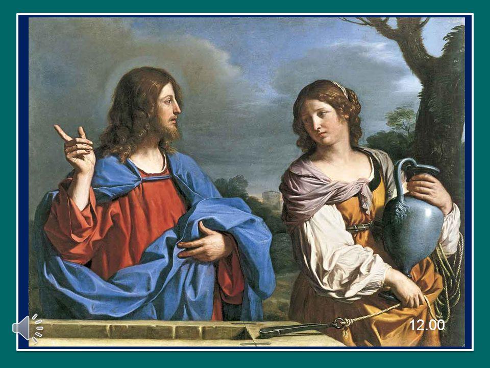 Quel giorno, vi trovò Gesù, seduto, «affaticato per il viaggio» (Gv 4,6).