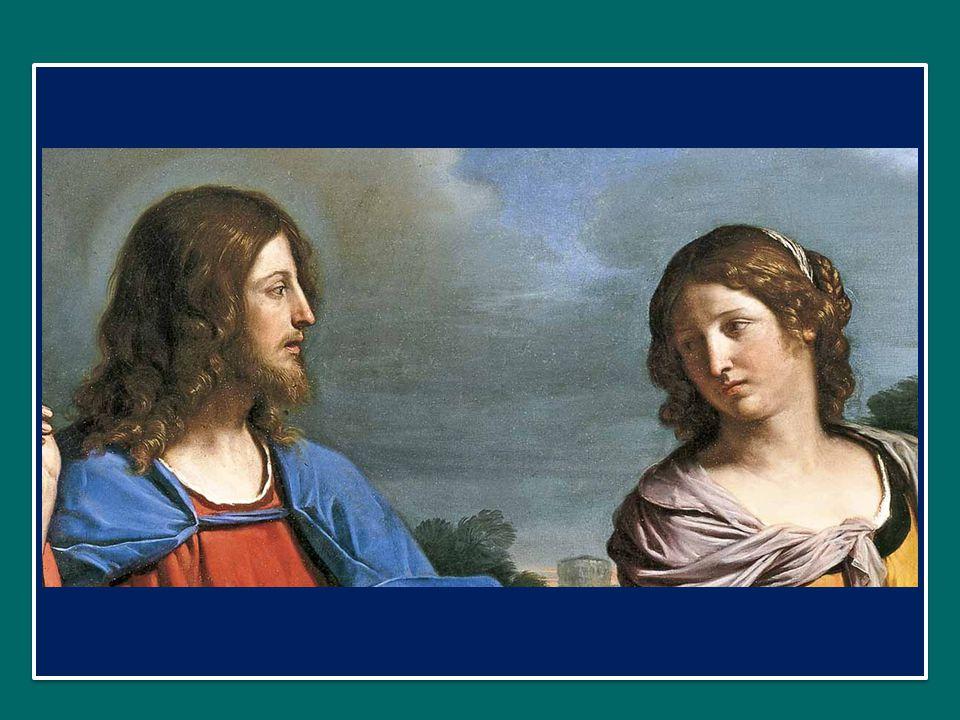 La semplice richiesta di Gesù è l'inizio di un dialogo schietto, mediante il quale Lui, con grande delicatezza, entra nel mondo interiore di una persona alla quale, secondo gli schemi sociali, non avrebbe dovuto nemmeno rivolgere la parola.