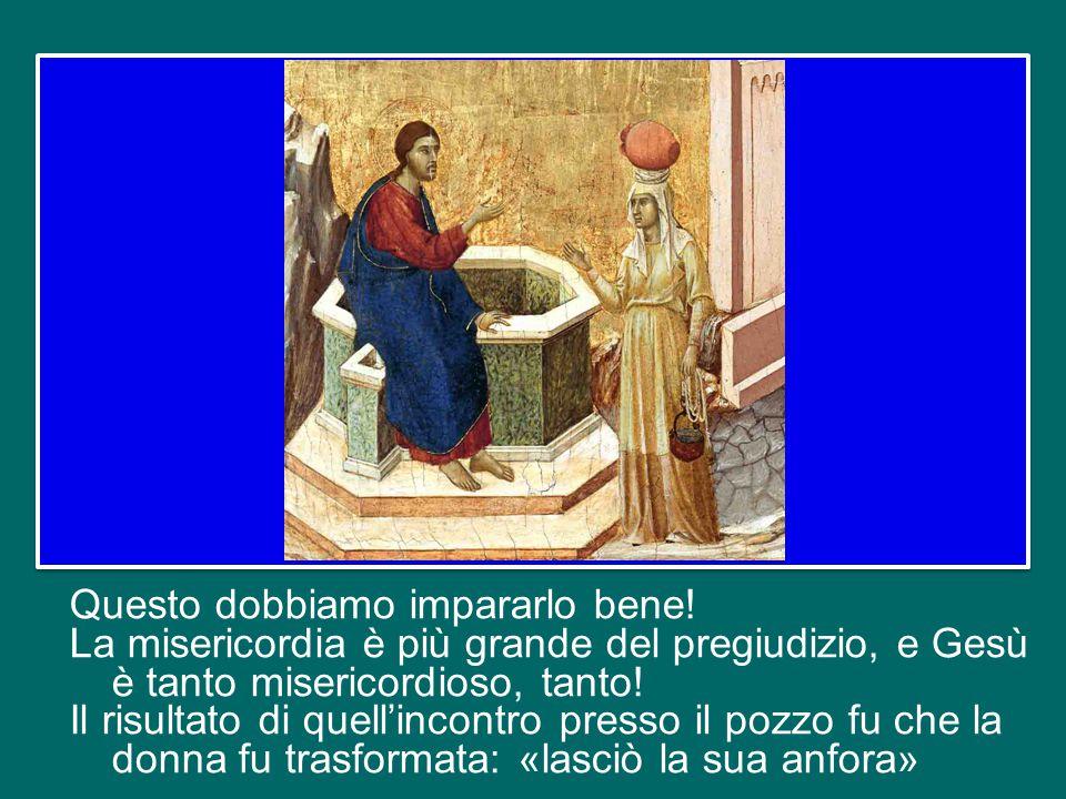 Il Vangelo dice che i discepoli rimasero meravigliati che il loro Maestro parlasse con quella donna.