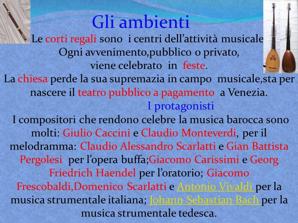 Antonio Vivaldi nacque il 4 marzo 1678 a Venezia, imparò a suonare il violino dal padre e precocemente dimostrò il suo grande talento.