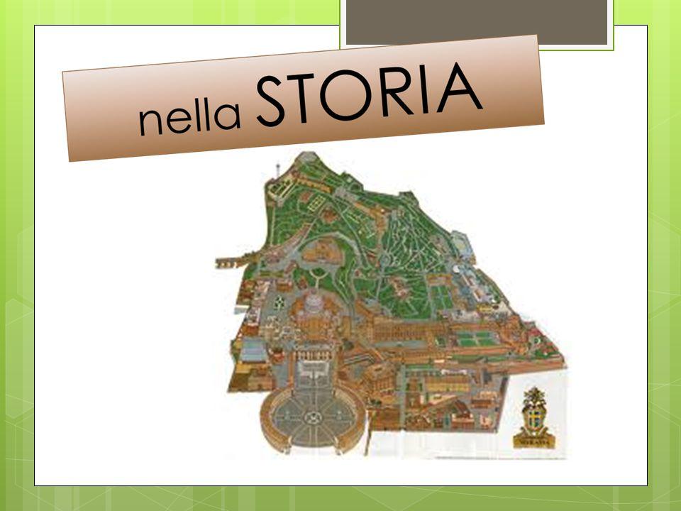 Nel TERRITORIO Il territorio dello Stato della Città del Vaticano è un'enclave del territorio della Repubblica Italiana Il colle Vaticano, che non fa