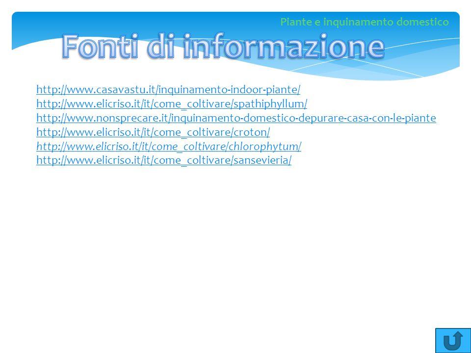 http://www.casavastu.it/inquinamento-indoor-piante/ http://www.elicriso.it/it/come_coltivare/spathiphyllum/ http://www.nonsprecare.it/inquinamento-dom
