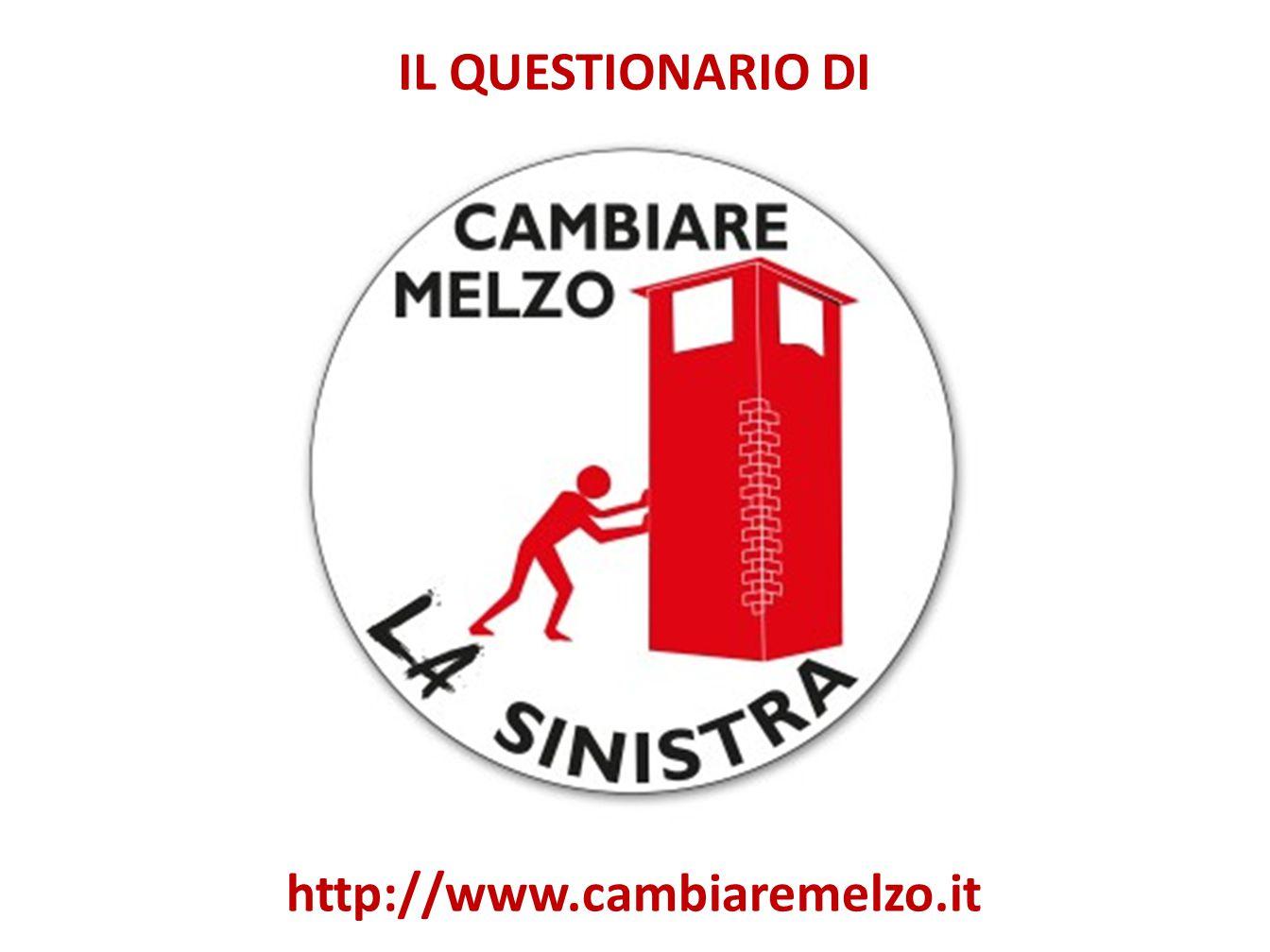 IL QUESTIONARIO DI http://www.cambiaremelzo.it