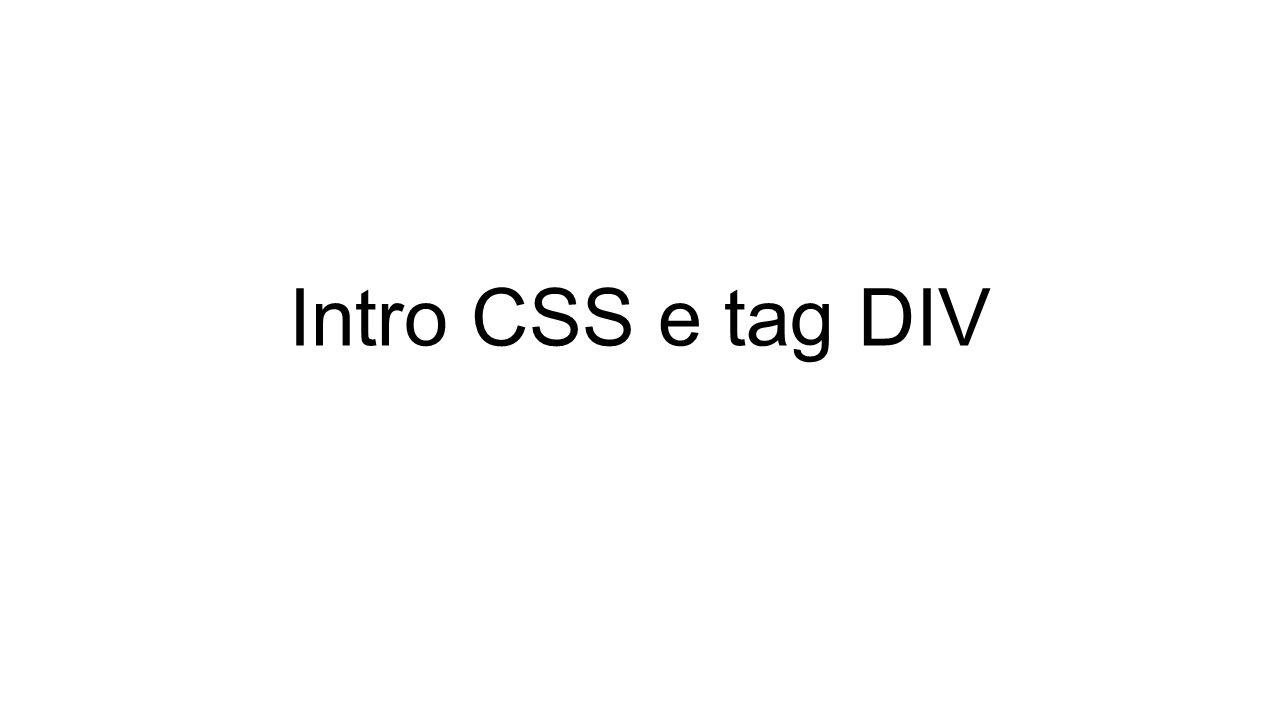 UNITa di misura in CSS PRIMA PARTE: IL BOX MODEL PX: dimensione fissa EM: unita di misura relative %:: unita di misura relativa
