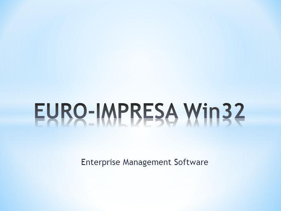 Enterprise Management Software