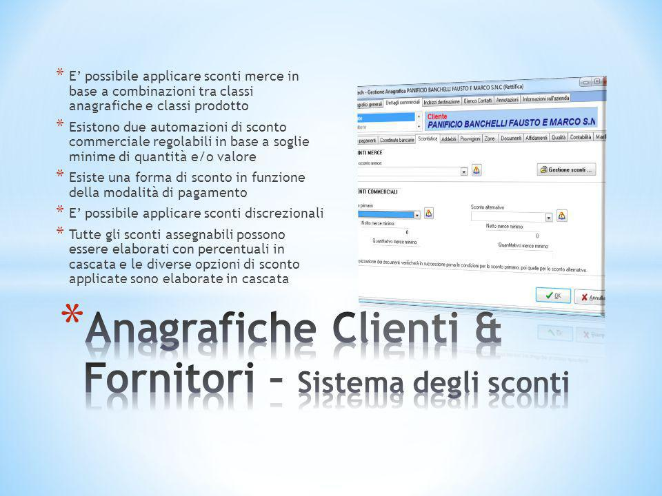* Le procedure di importazione documenti permettono di eseguire l'importazione ricorrente e sistematica di dati all'interno di un documento.