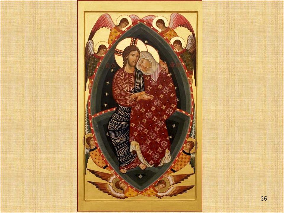 34 Allora possiamo dire che MARIA è Madre di Gesù Madre dolorosa Madre della chiesa Madre di tutti i figli
