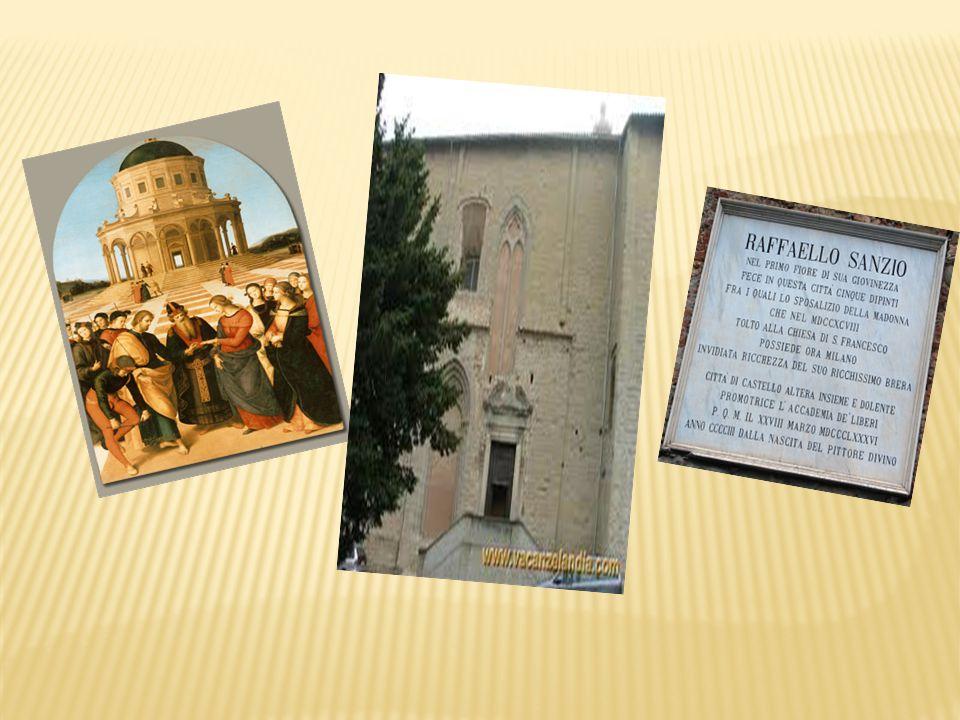 Proseguendo per via del Popolo arriviamo a Piazza Venanzio Gabriotti, che i tifernati chiamano Piazza de' Sotto o Piazza del Duomo.